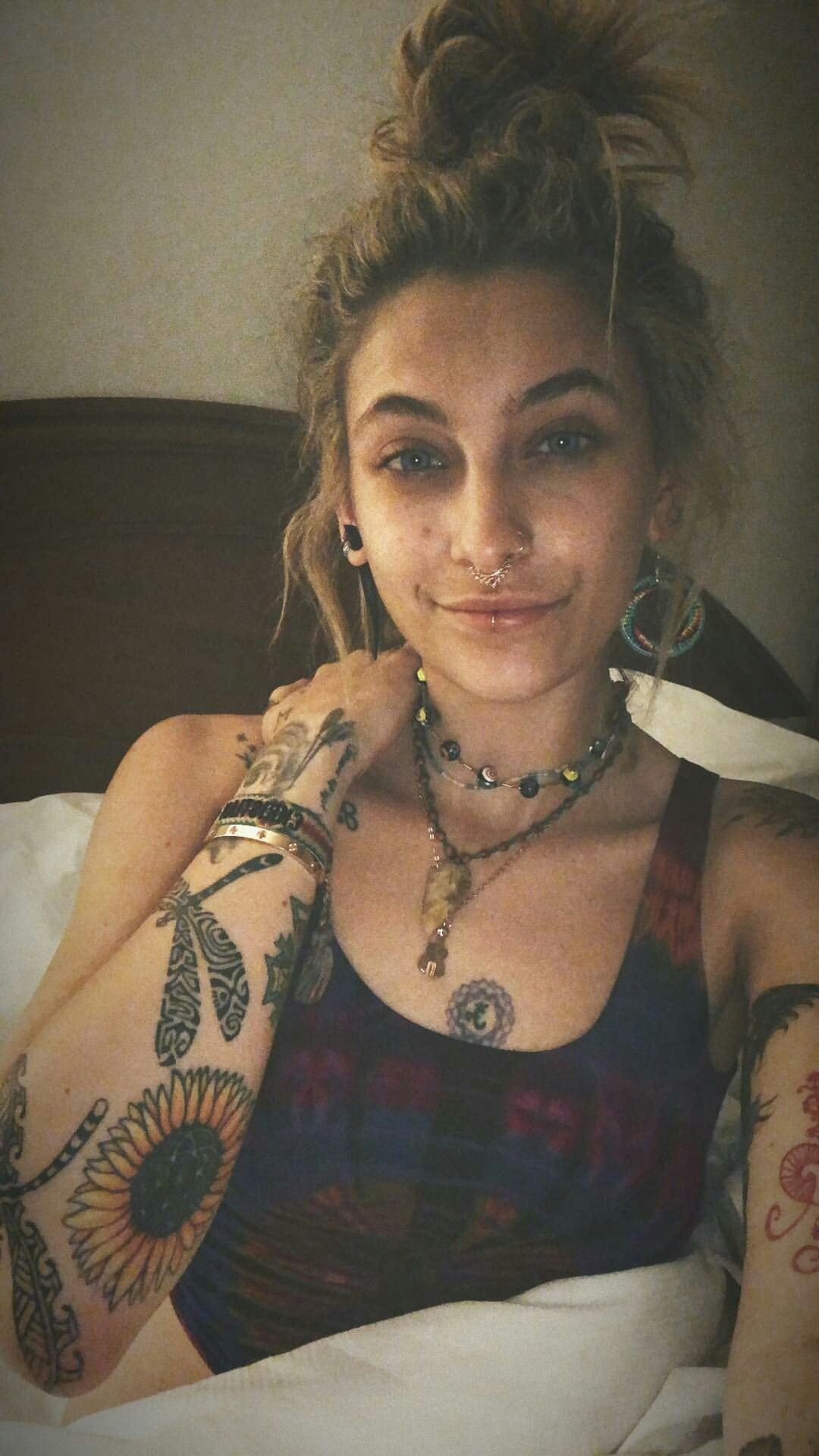 Pin By Ava May On Tattoos And Piercings Paris Jackson Tattoo
