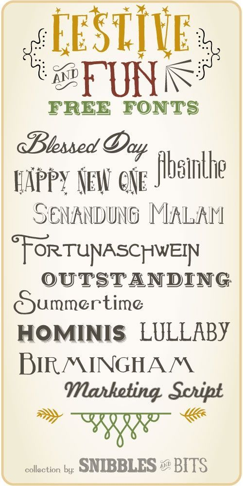 Country Girl Ramblings: My Favourite Free Christmas Fonts