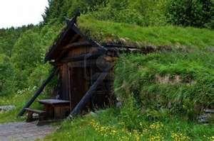 Orignal Viking house Norway