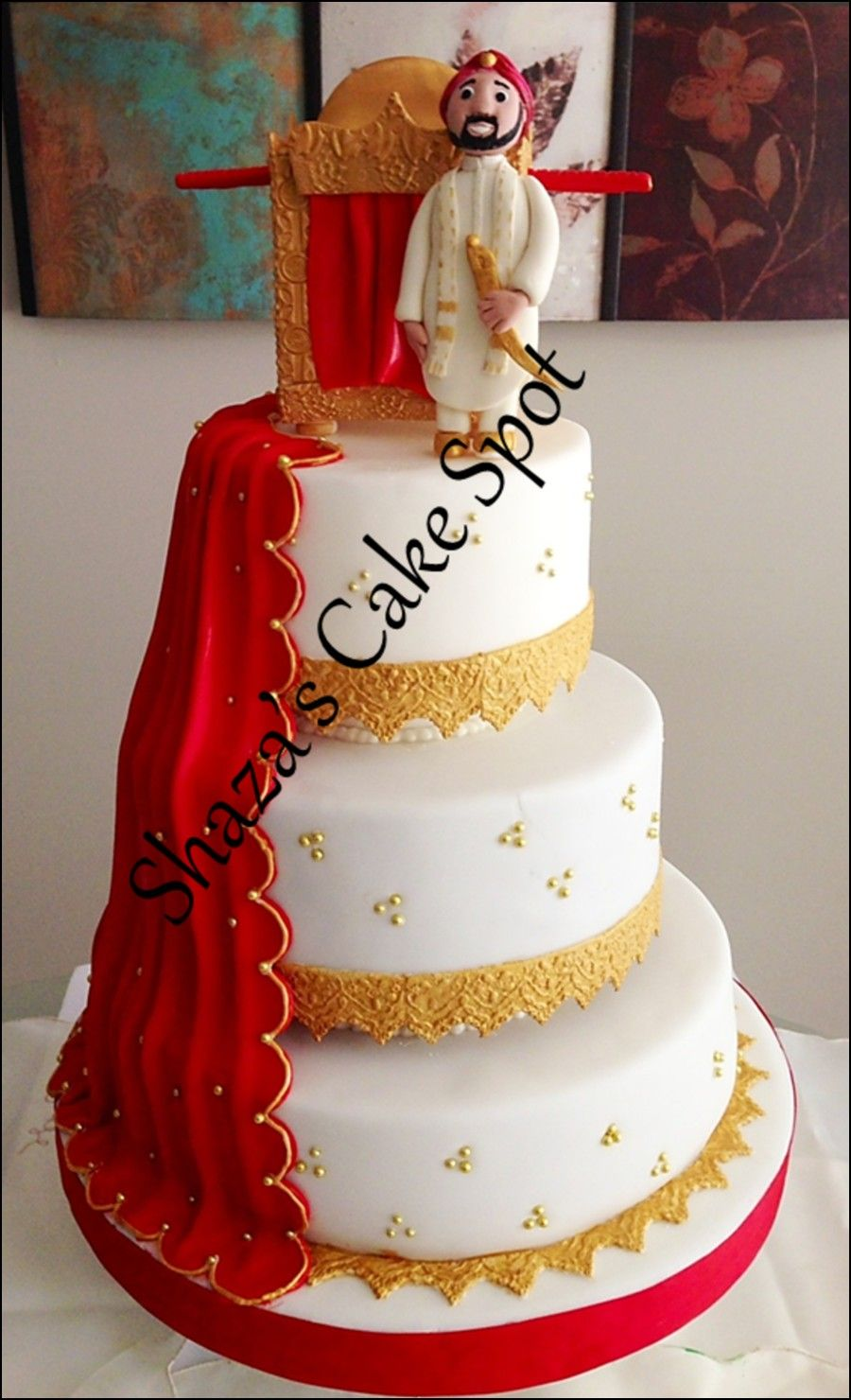 Red and gold wedding cakes wedding ideas pinterest gold