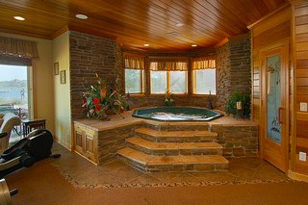 Inground Spa And Hot Tub Gallery Hottubworks Spa Hot Tub Blog Hot Tub Room Indoor Hot Tub Hot Tubs Saunas