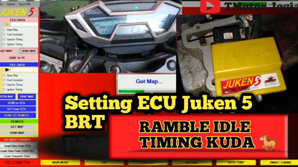 Cara Setting Ramble Idle Atau Timing Kuda Pada Ecu Juken 5 Brt Untuk Harian Instagram Thailand Gambar