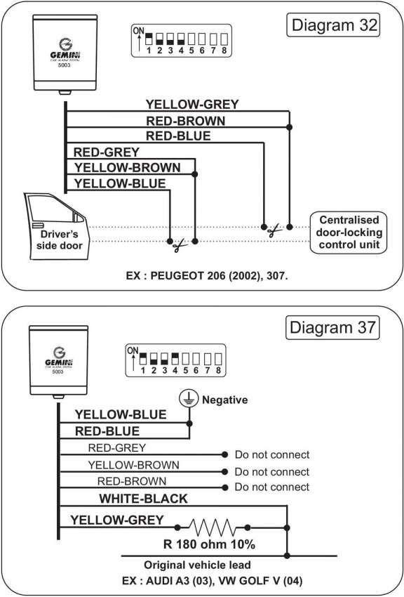 12  Gemini Car Alarm Wiring Diagram