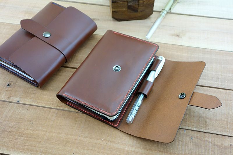 Leather Goods Leather Notebook Pocket Notebook Leather