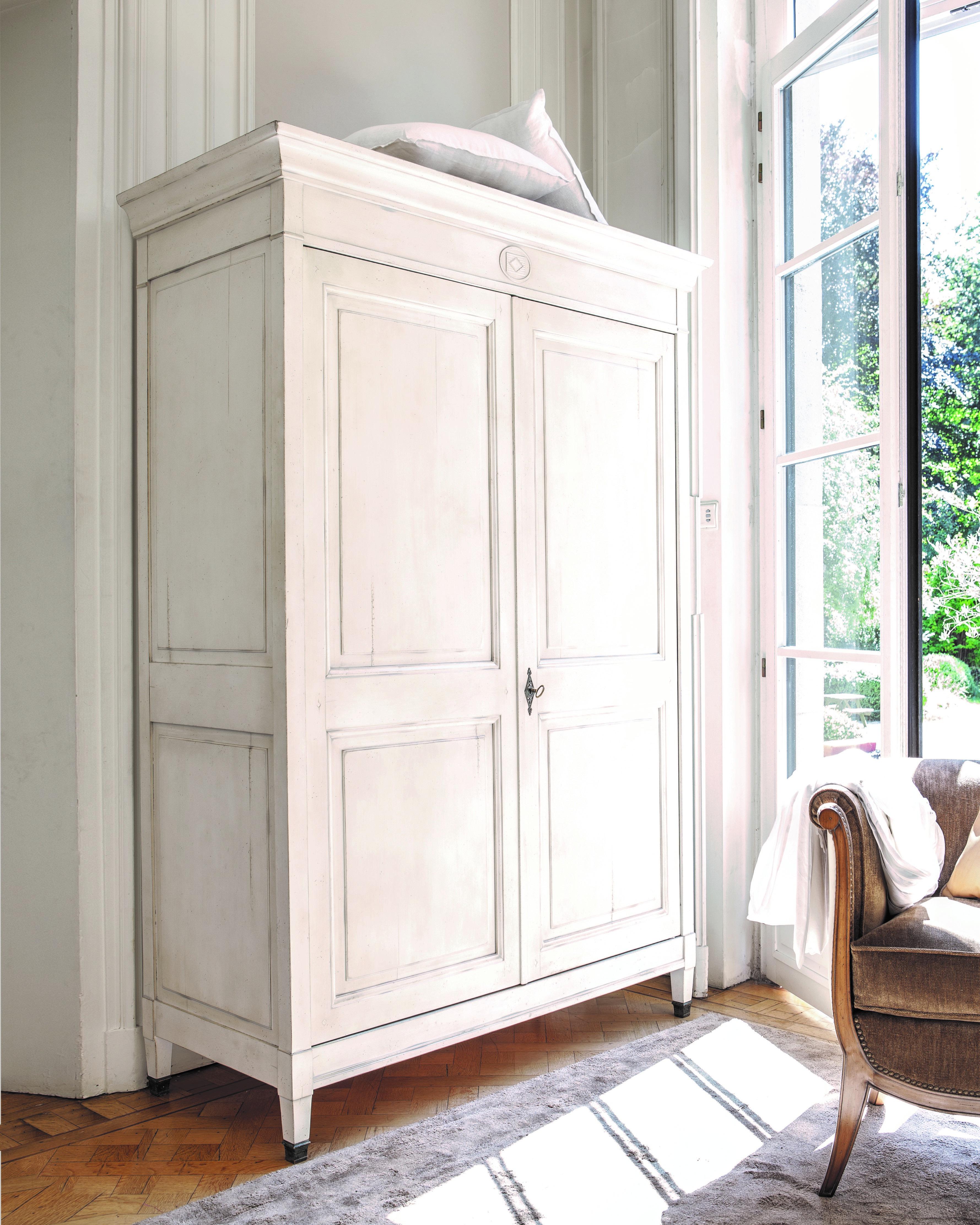 witte kledingkast - kledingkast ideeën - slaapkamer inspiratie ...