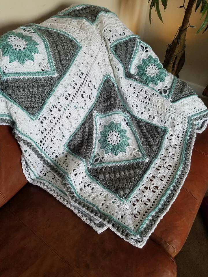 Charlotte\'s Dream Blanket | Crochet Afghans | Pinterest | Deckchen ...