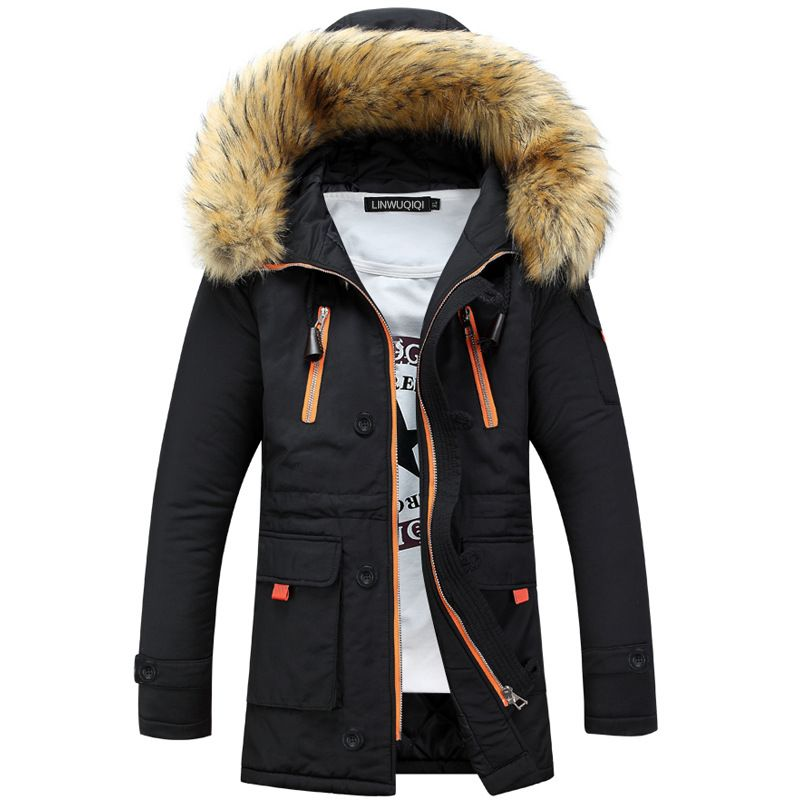 Men's Clothing Hooded 2016 Fashion Keep Warm Coat Casual Men's ...