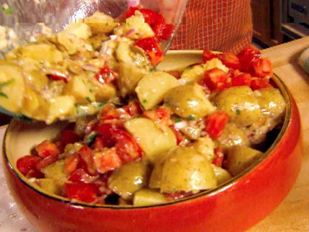 Warm potato tomato salad with dijon vinaigrette recipe dijon get warm potato tomato salad with dijon vinaigrette recipe from cooking channel forumfinder Image collections