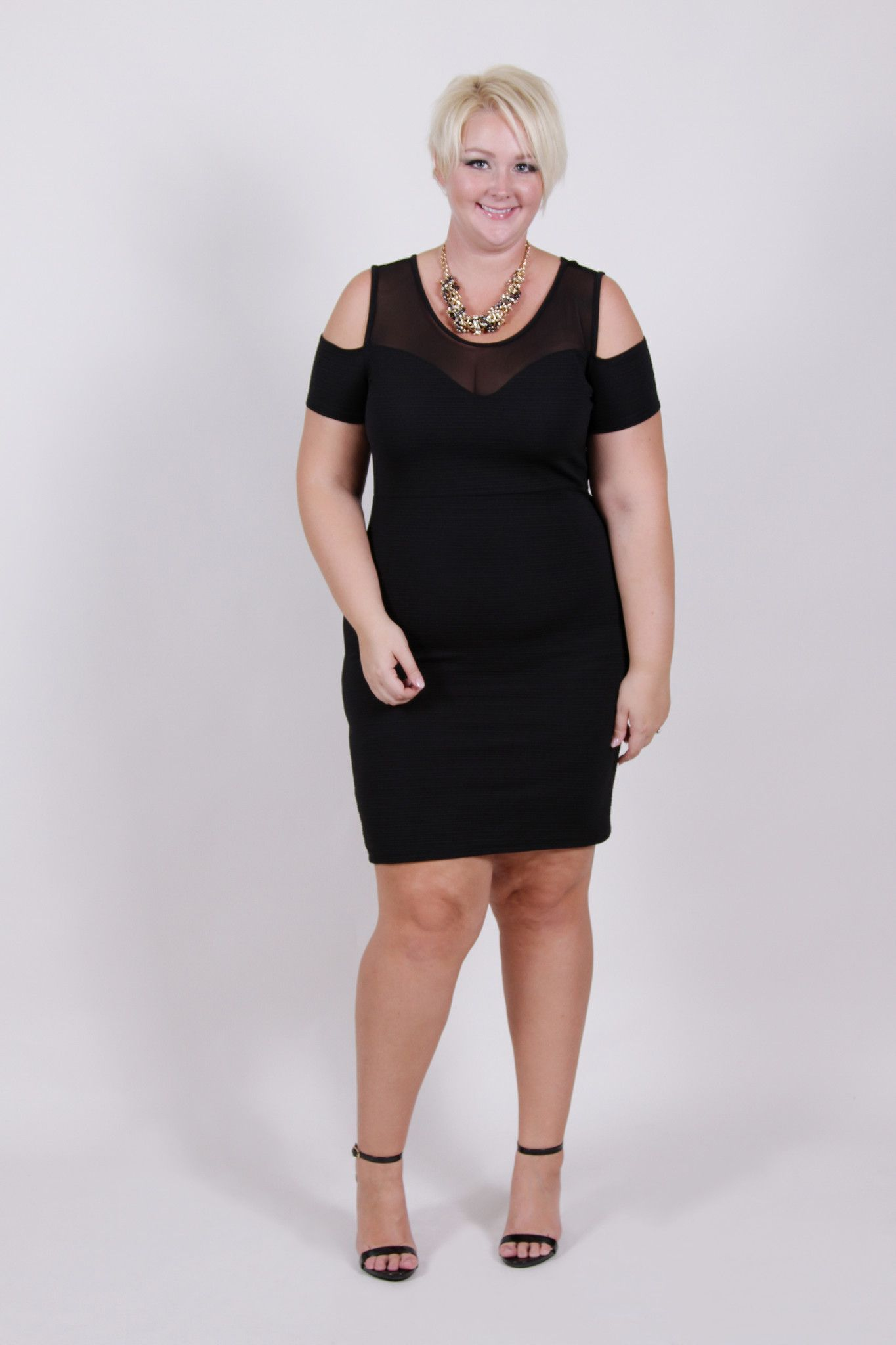 Lbd Stunning Silhouette Plus Size Dress Sizes 14 18 Plus Size