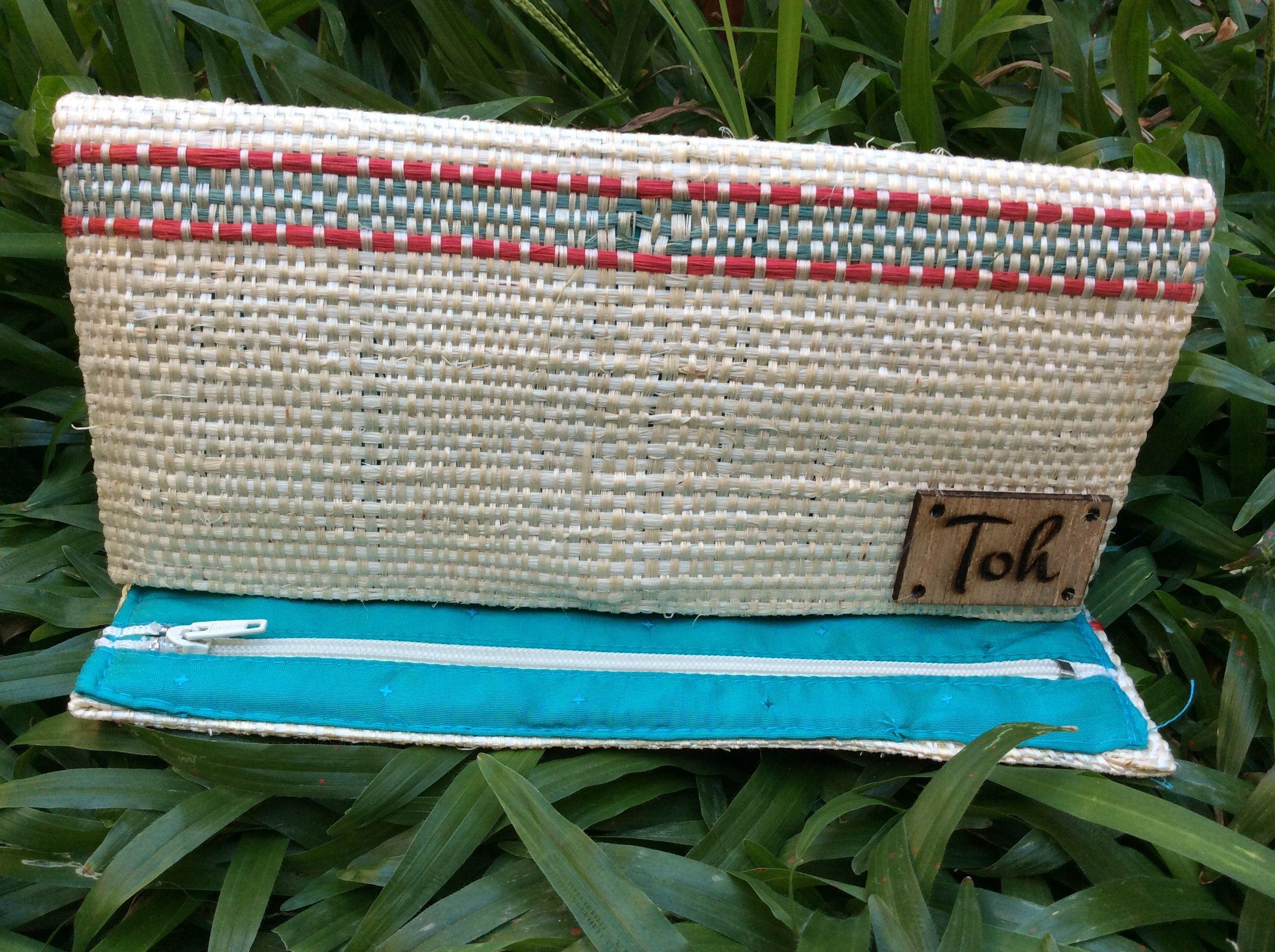 toh purse sisal fiber cartera toh fibra de henequn