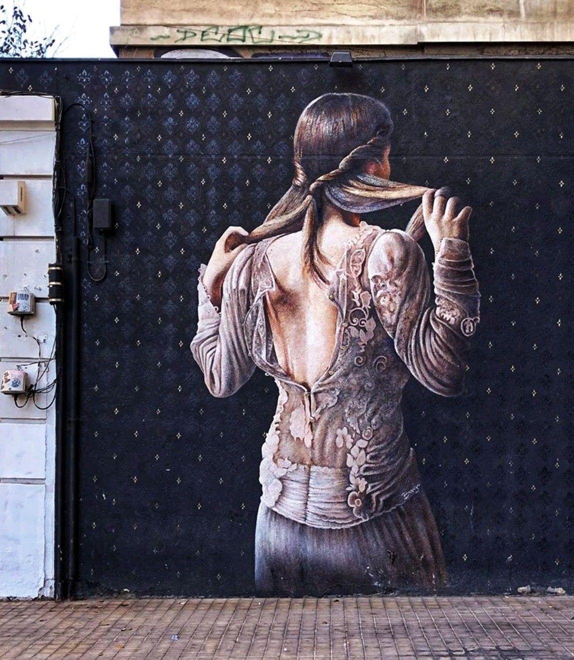 Javier Barriga Arte Callejero Arte Urbano Y Murales Graffiti