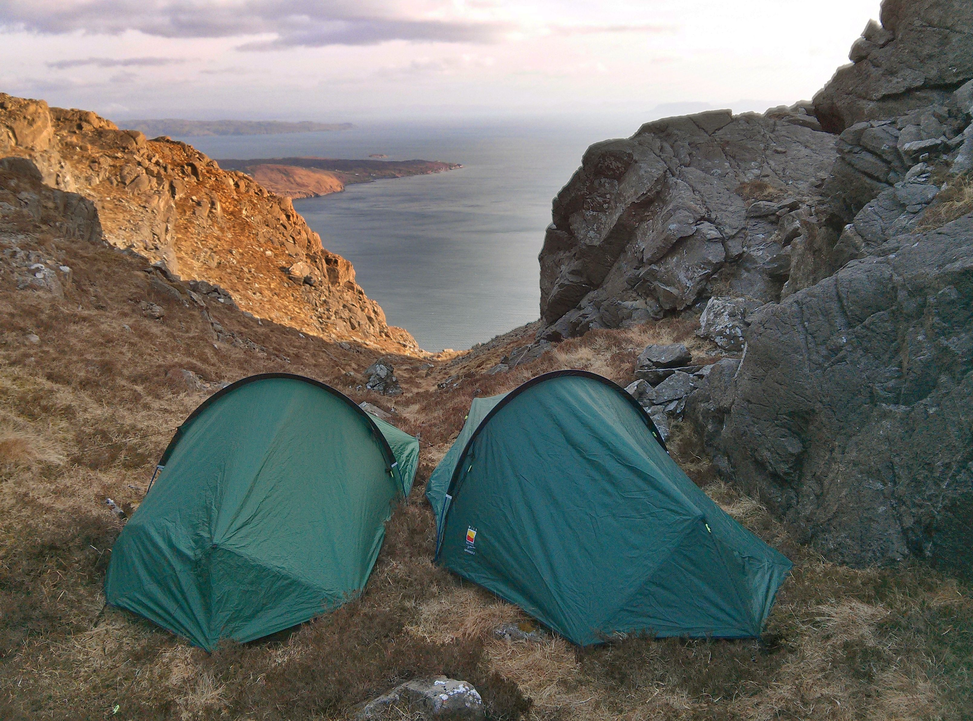 Sgurr Na Stri Wild C& - Tent Pitch - Isle Of SKye - Scotland Photography & Wild camping on Isle of Skye | ESCAPE | Pinterest | Wild camp ...