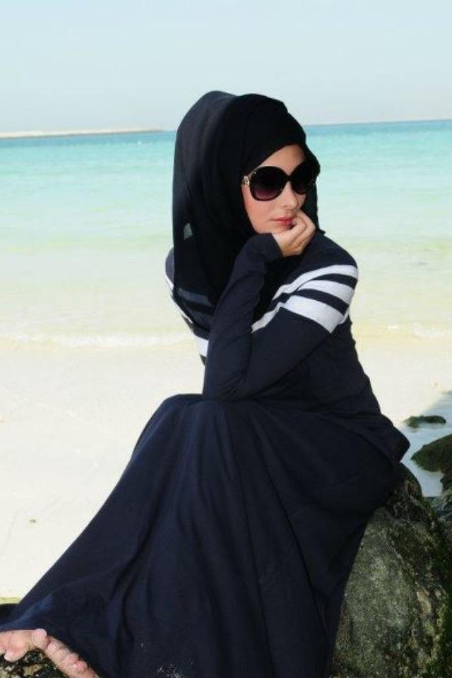 abaya and the style Hijabi fashion