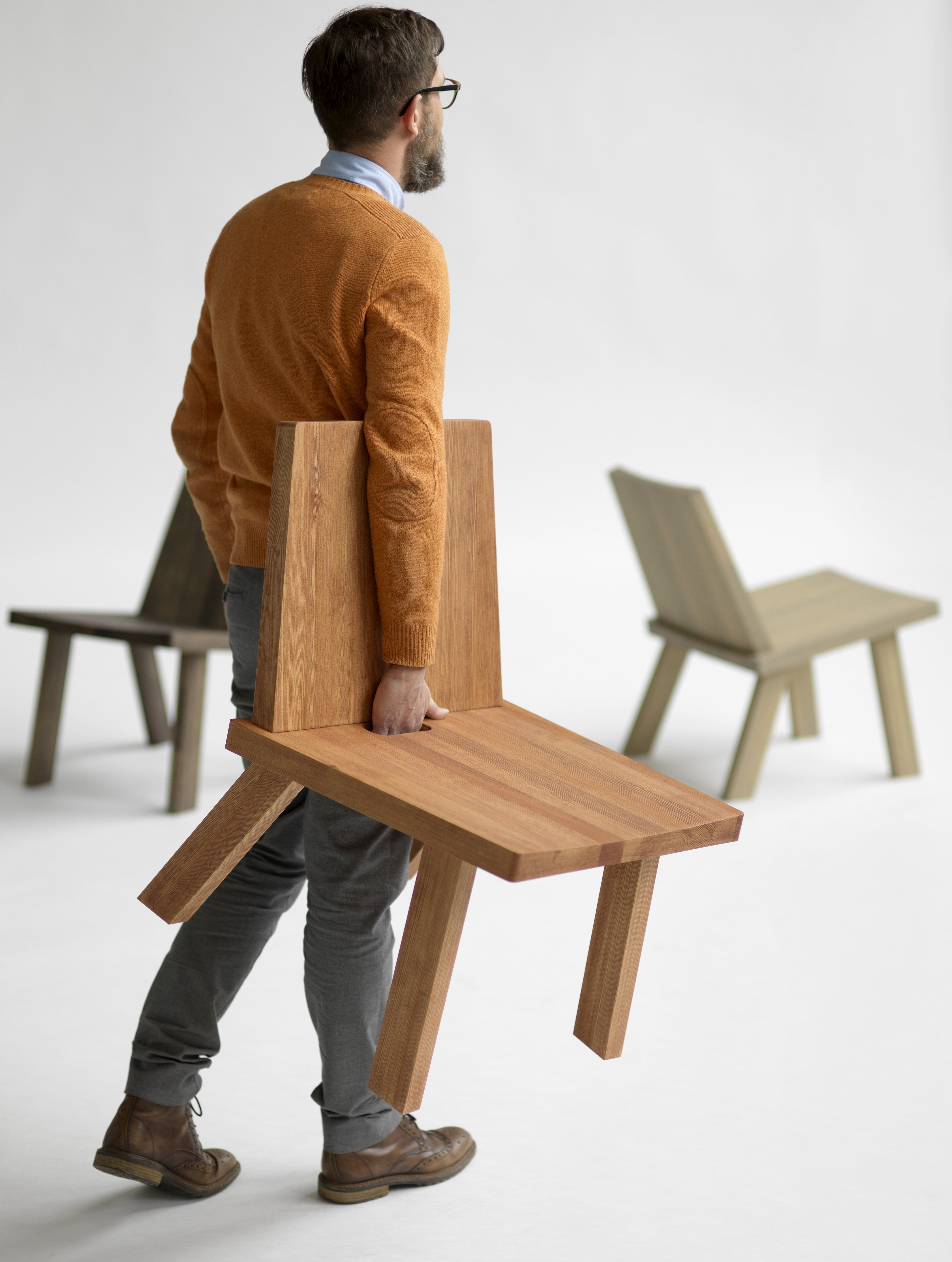 Scandinavische Design Stoelen.Pinzo Pine Chair Cadeiras Design Arquitetura E Design Design