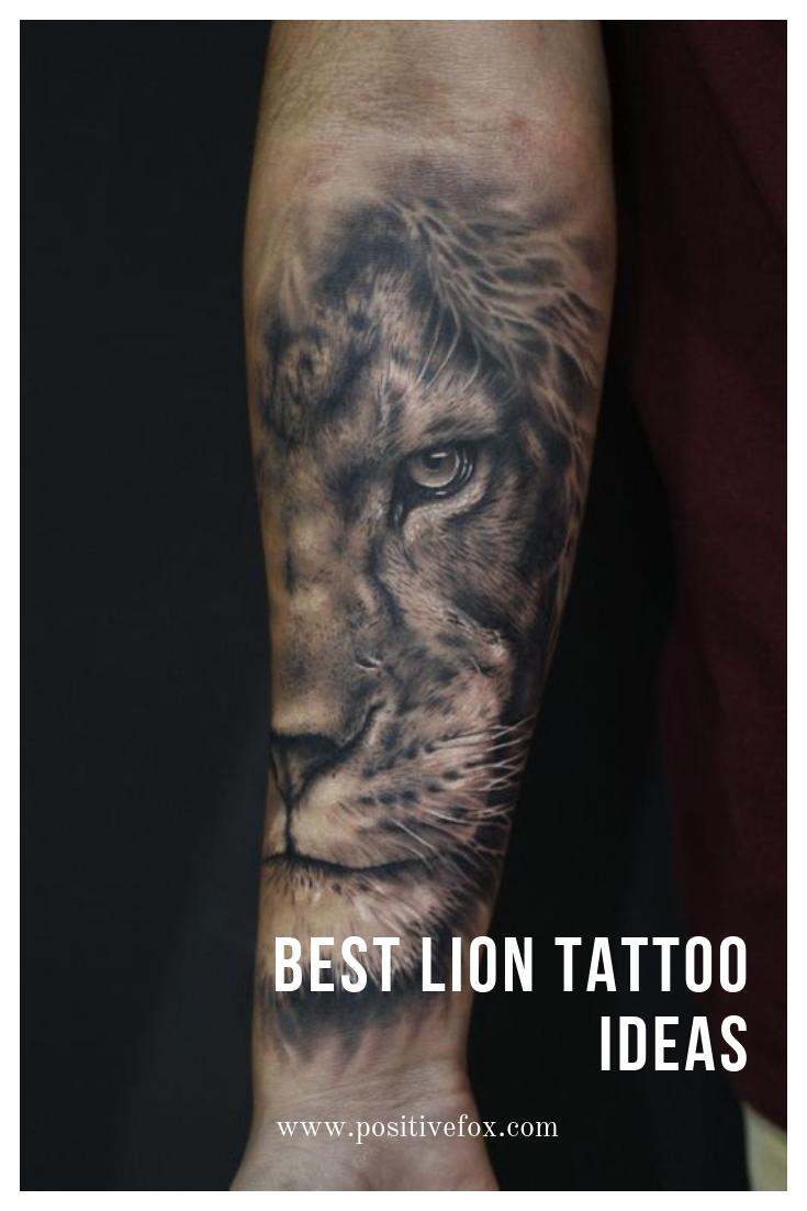 Lion Tattoo Designs On Forearm Valoblogi Com