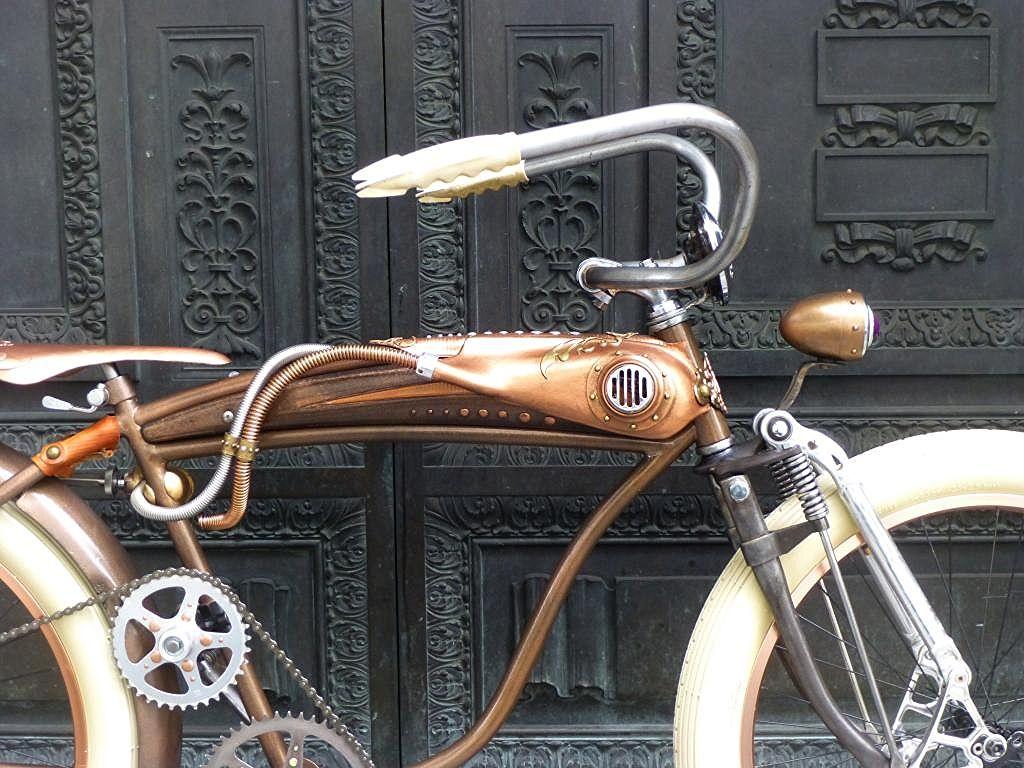 Rat Rod Cruiser Bike - Steampunk  www.ratrodbikes.com