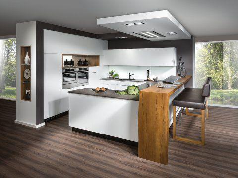 Photo of Cucina di design con soluzione bar