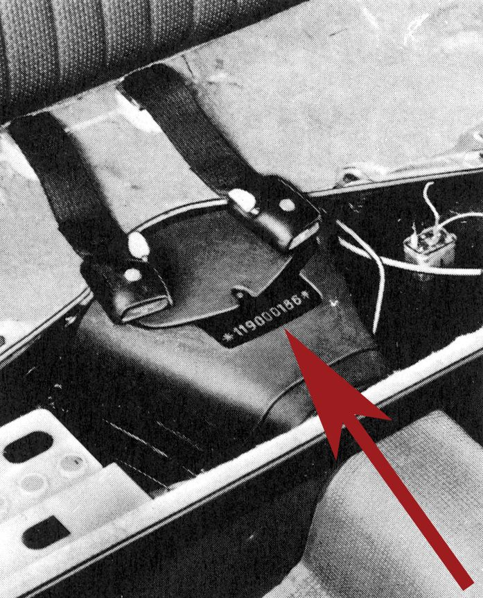 Volkswagen Chassis Number location °~° | VW bugs | Pinterest ...