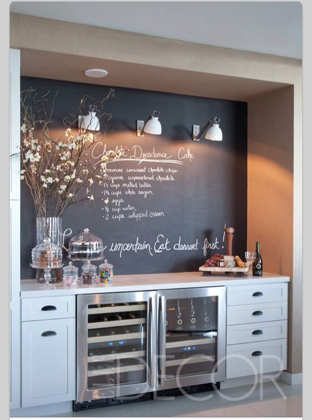 Love This! Could Actually Use The Drink Cooler Too, Makeover Space In  Kitchen Where