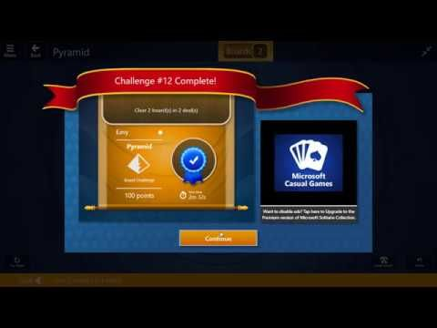 Solitaire World Tour - Challenge #12 | 30th January 2017