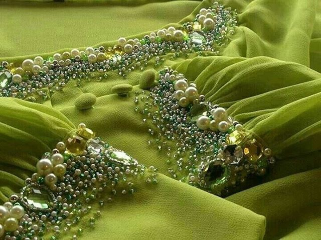 fashion embroidery on Instagram: #urbancouture #embroidery #embellishement #sequins #couture #handmade #partydress #вышивкаоткутюр #fashionkilla #highfashion #fashionpost