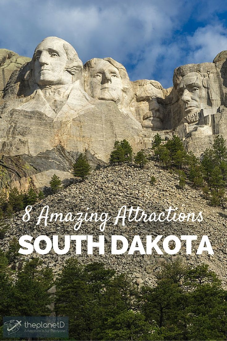 8 amazing south dakota attractions   pinterest   mount rushmore