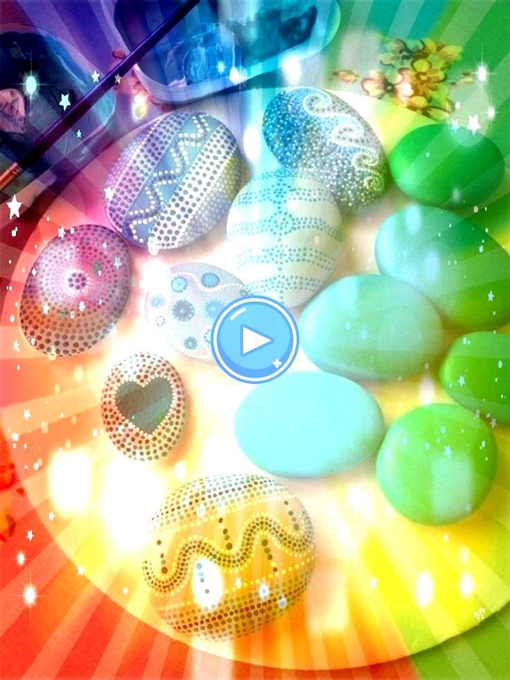 101 Ideen für eine schöne DIY Dekoration  DIY  Do it yourself  Selber Machen  Europaletten Paint Stones 101 Ideen für eine schöne DIY Dekoration  DIY...