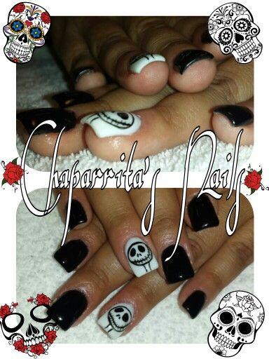 Halloween nails | Halloween nails, Cute halloween nails ...