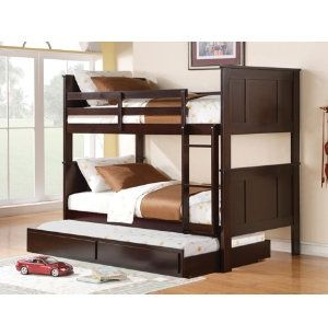 bunk bed with pull out trundle