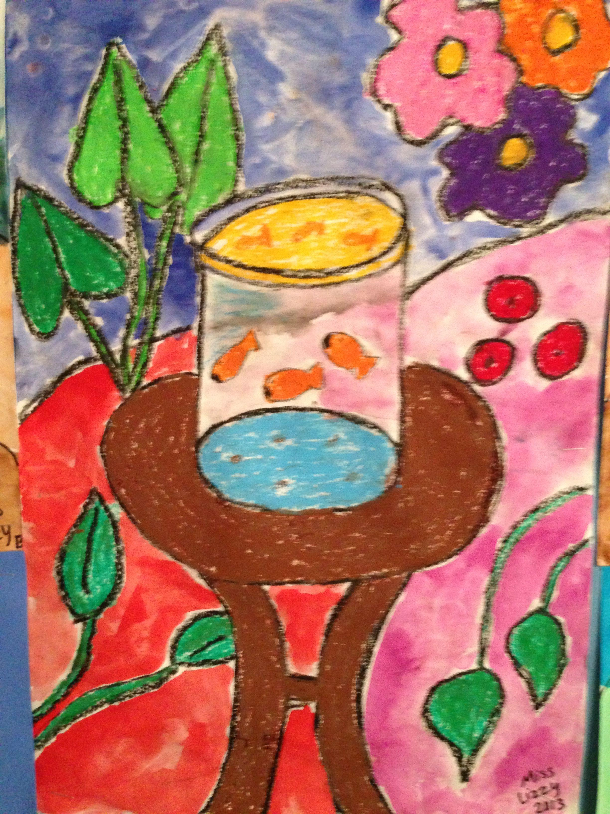Matisse Fish Bowl Art Project