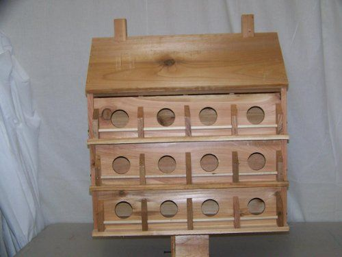Birdhouses  Purple Martin Deluxe Birdhouse with 24 Seperate Compartments Backyard makeover <3 This is an Amazon Associate's Pin. Find the item on the website by clicking the VISIT button.