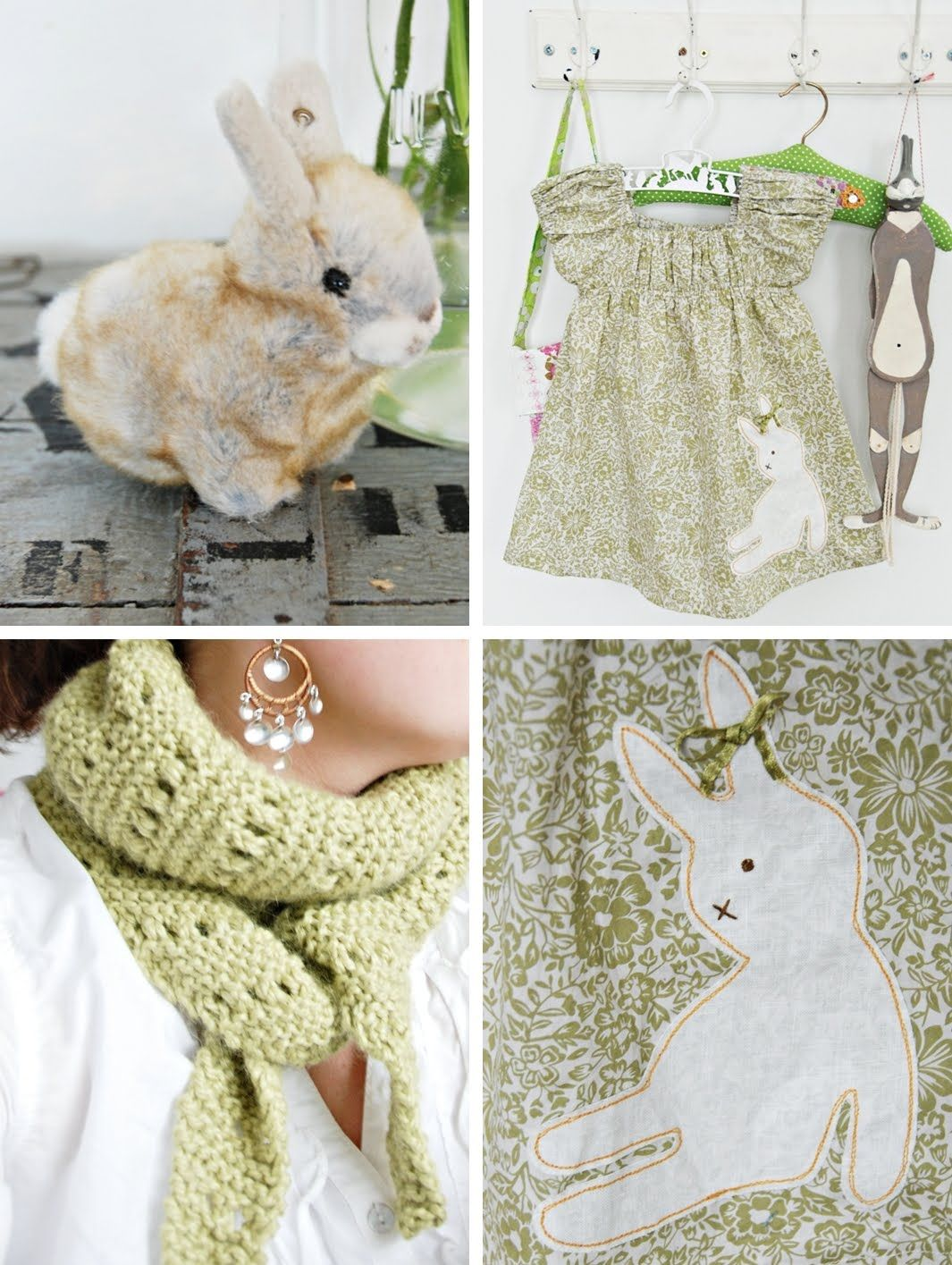 Bunny applique (inspiring)