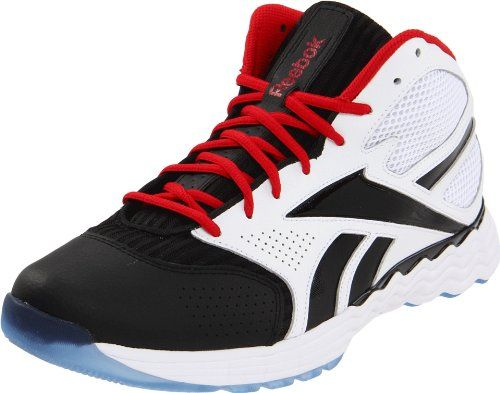 Reebok Men`s Thermalvibe 1.5 Basketball Shoe,White/Black/Excellent Red/Ice,8.5 M US