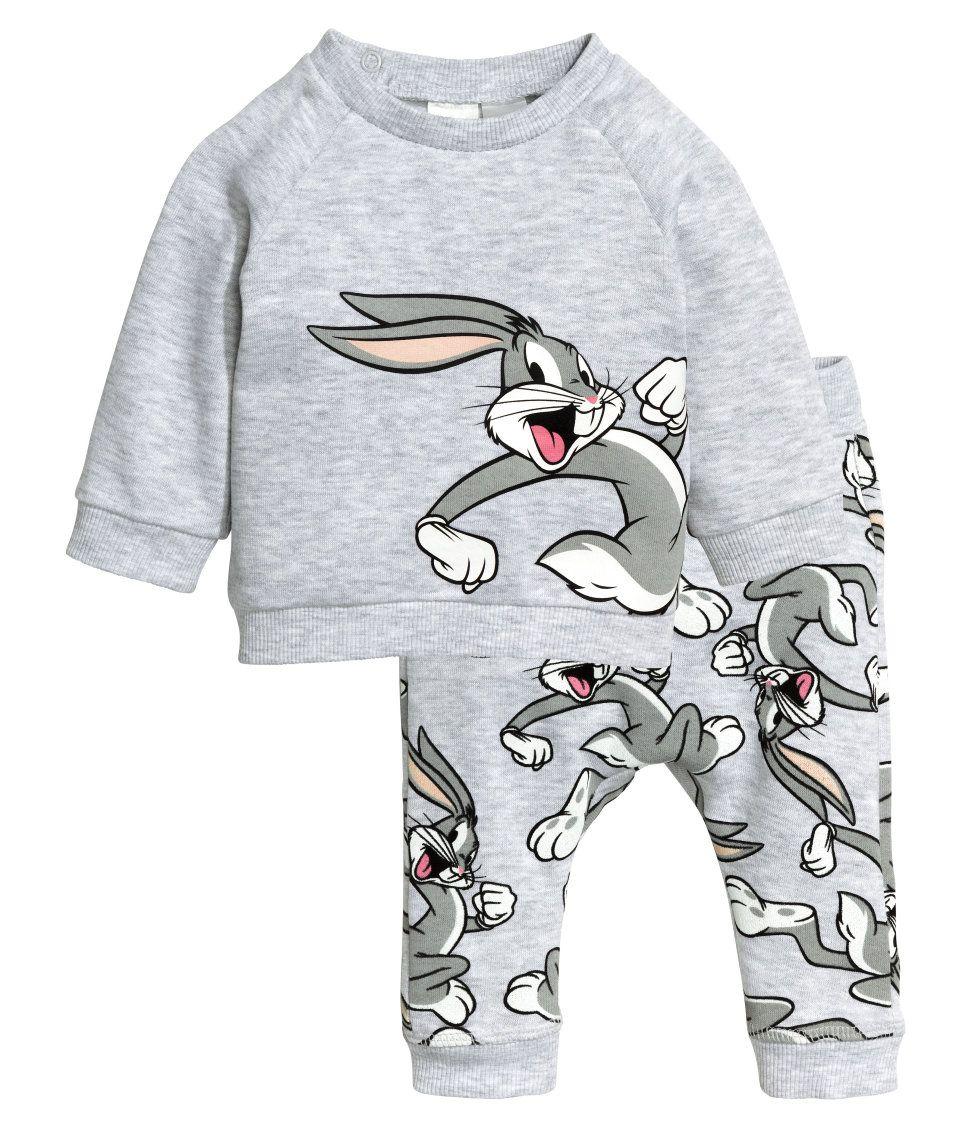 Sweatshirt und Hose | GrauLooney Tunes | Kinder | H&M DE