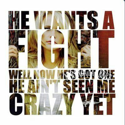 """Gunpowder and Lead"" by Miranda Lambert."