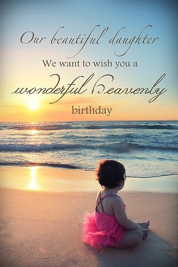 Daughter Sea Birthday With Images Birthday In Heaven Happy