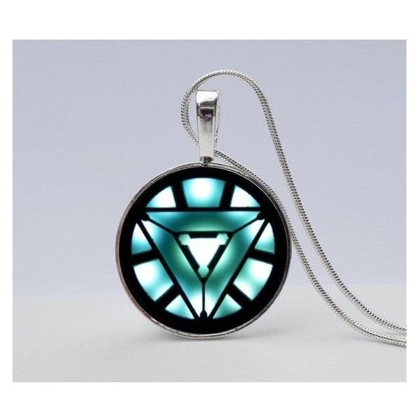 Iron man arc reactor necklace avengers necklace iron man symbol iron man arc reactor necklace avengers necklace iron man symbol neckl liked on polyvore featuring jewelry and necklaces my polyvore finds pinterest aloadofball Image collections