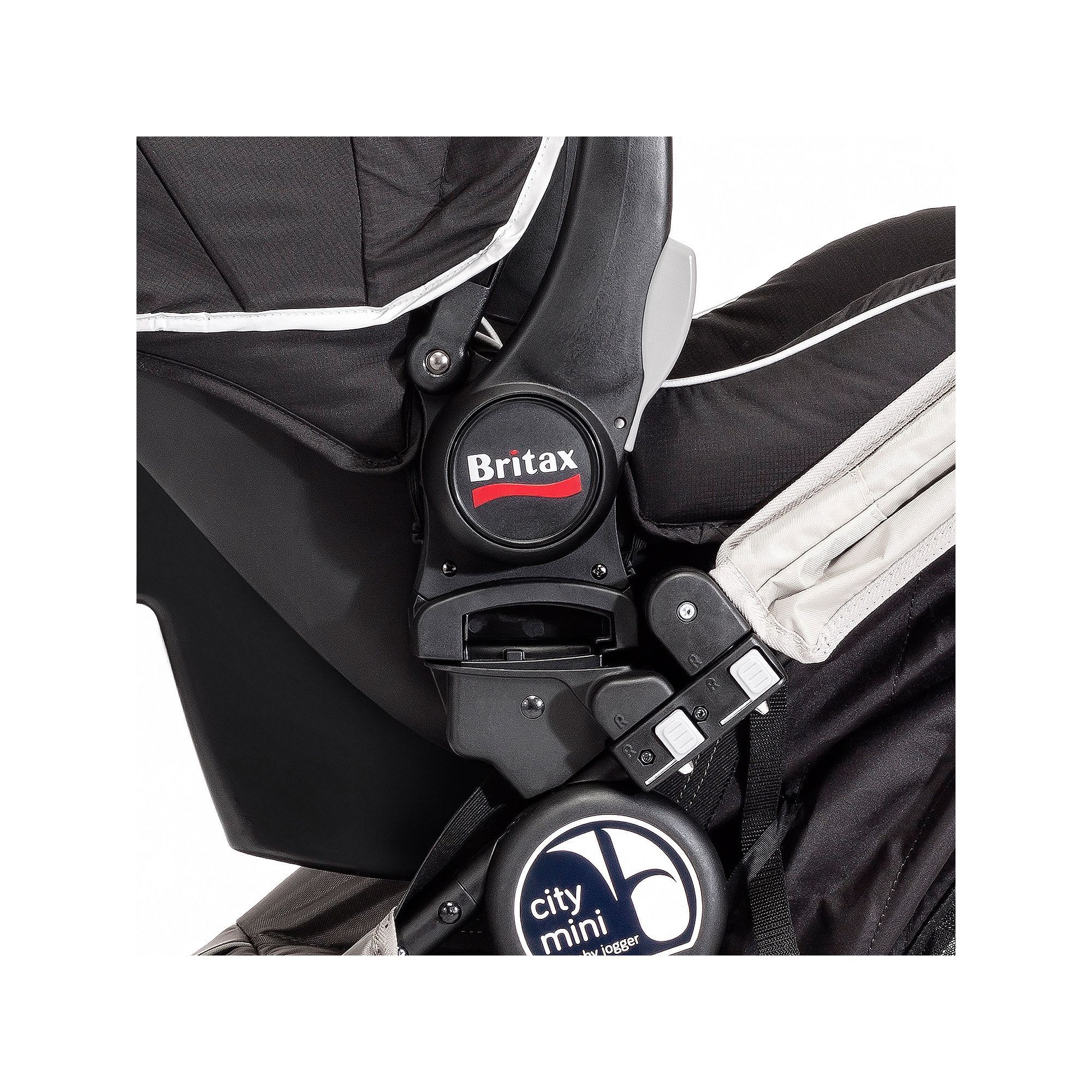 Britax/BOB Single Car Seat Adapter for Baby Jogger City
