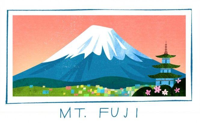 Mount Fuji Artwork