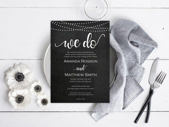 wedding invitation downloadable templates
