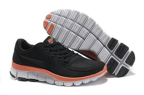 Nike Womens Free 5.0 V4 Black Melon Crush