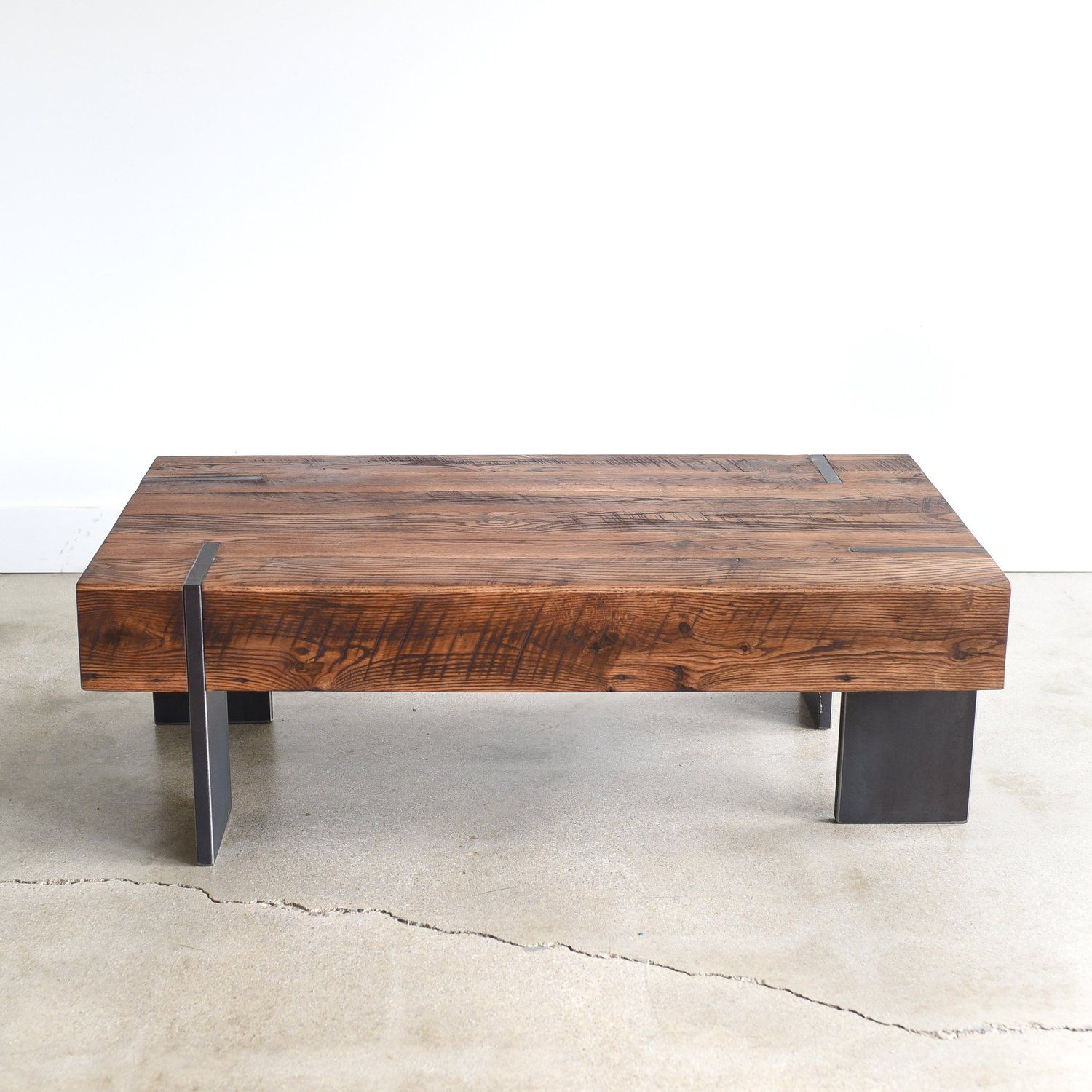 Large Modern Reclaimed Wood Coffee Table What We Make Old Wood Table Reclaimed Wood Coffee Table Modern Wood Coffee Table [ 1500 x 1500 Pixel ]