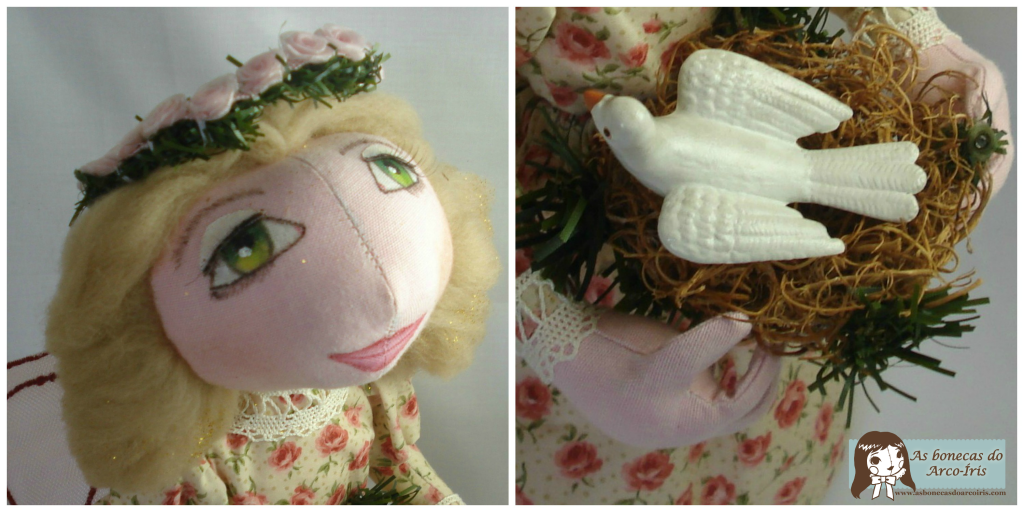 Character Doll - Vera the Angel of Peace