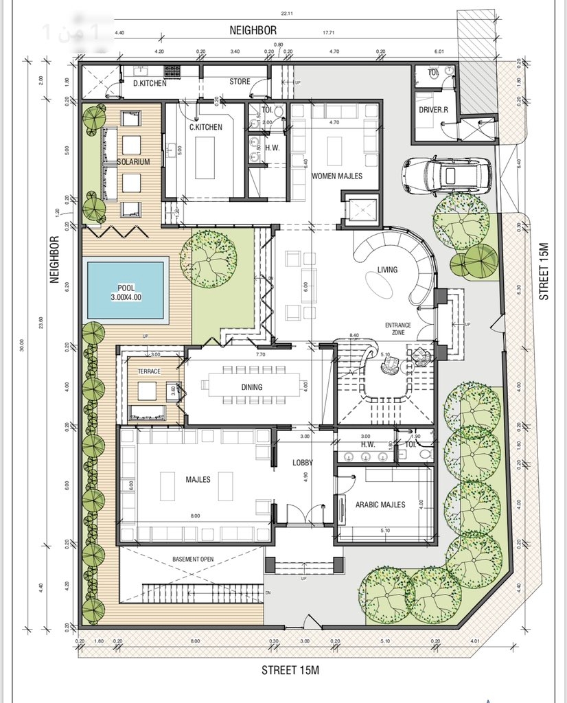 Pin By Haya On Plan Building Plans House My House Plans Family House Plans