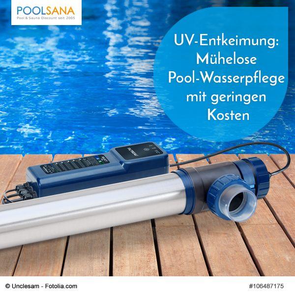 UV-Entkeimung Mühelose Pool-Wasserpflege mit geringen Kosten