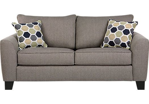 Outstanding Bonita Springs Gray Loveseat For The Home Couch Home Interior And Landscaping Ologienasavecom