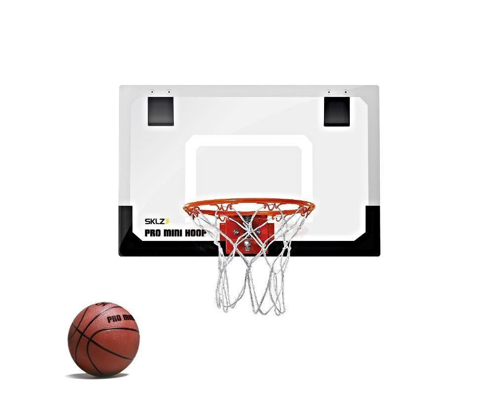 bca09aa8a0f MINI BASKETBALL HOOP Indoor Kids Over The Door Nerf Sklz Net Goal Inside  Game