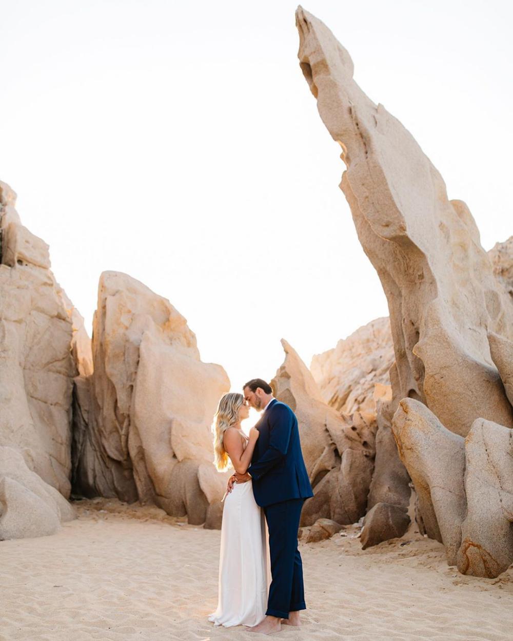 Cabo San Lucas Elopement // by Mexico Destination Wedding