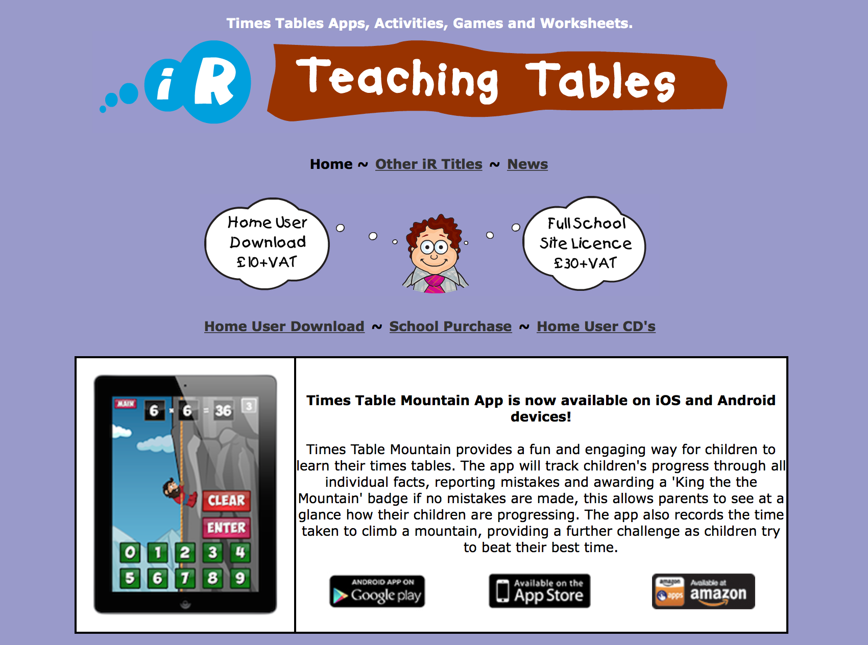 Teaching Tables With Images