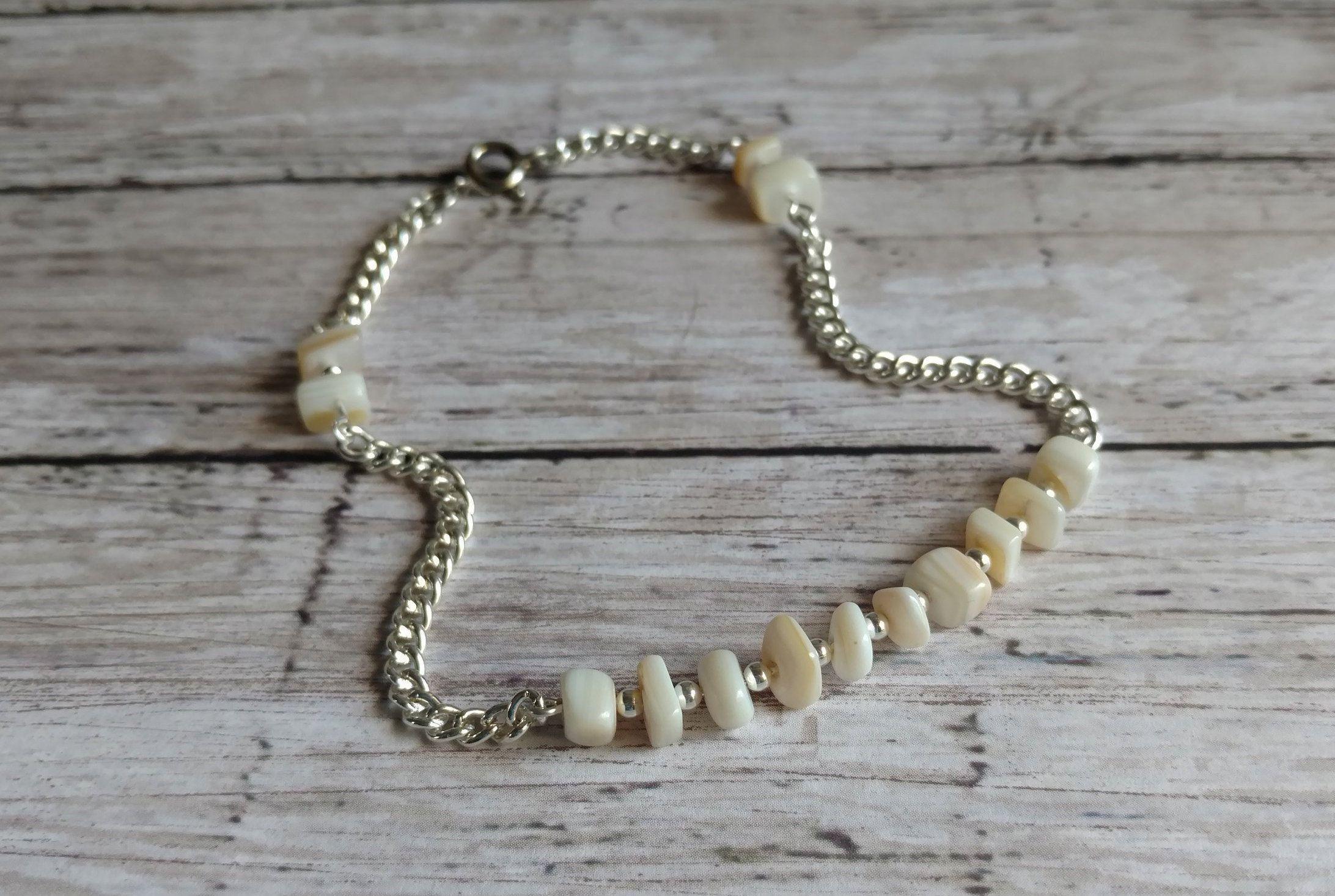 Mother Of Pearl Ankle Bracelet
